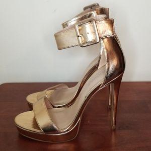 Shoe Dazzle Demi Ankle Strap Stiletto